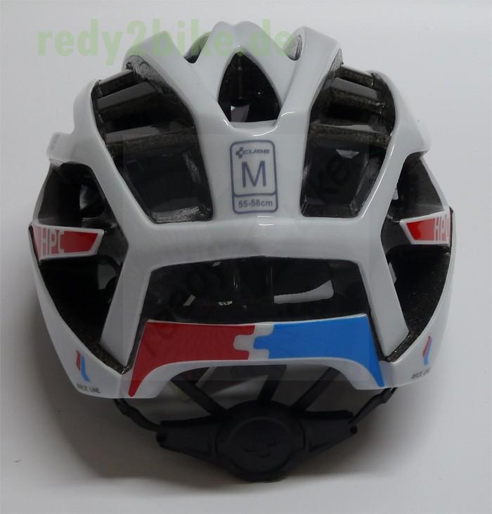 cube fahrradhelm mountainbike helm hpc teamline wei rot. Black Bedroom Furniture Sets. Home Design Ideas